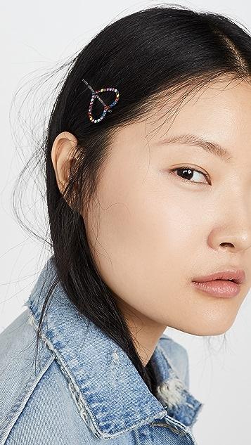 Elizabeth Cole Nara 心形发夹