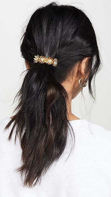 Elizabeth Cole Резинка для волос Golden с цветами