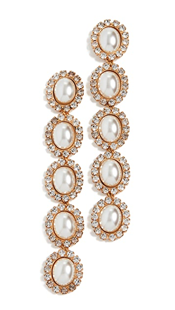 Elizabeth Cole Von Earrings