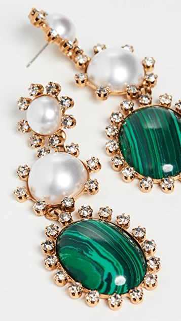 Elizabeth Cole Priscilla Earrings
