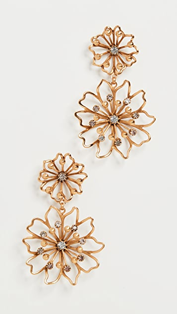 Elizabeth Cole Annabelle Earrings