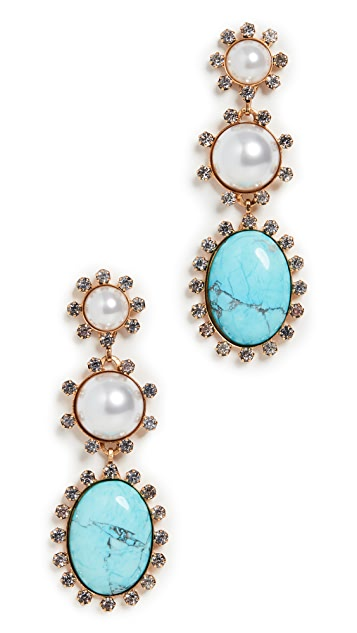 Elizabeth Cole Priscilla Earrings