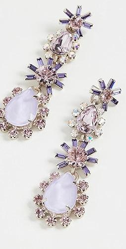 Elizabeth Cole - Opal Earrings