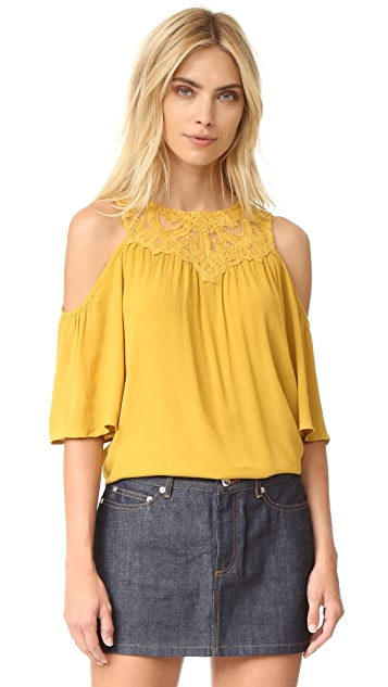 Ella Moss Olivier Cold Shoulder Blouse