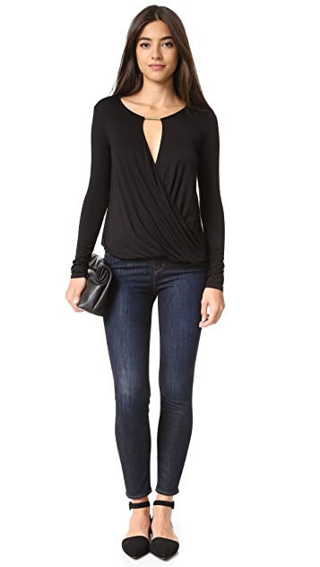 Ella Moss Bella Long Sleeve Blouse