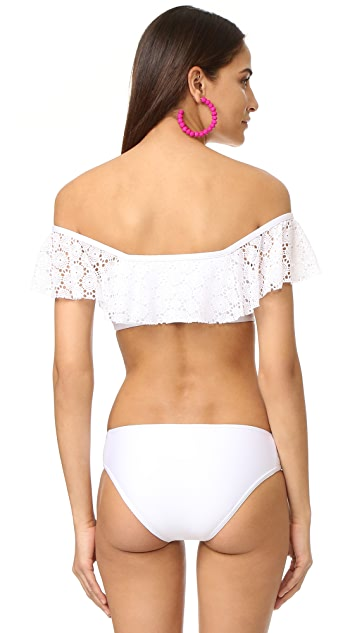Ella Moss Lover Off Shoulder Bikini Top