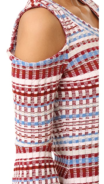 Ella Moss Nomadic Rib Sweater Dress