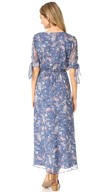 Ella Moss Dreamer Silk Wildflower Dress