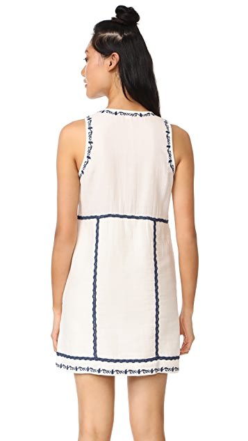 Ella Moss Marini Embriodered Dress