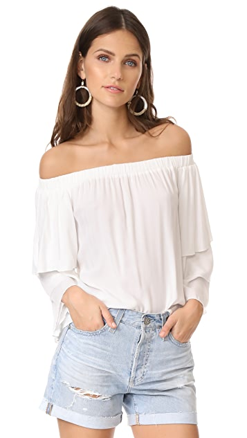924620f95be536 Ella Moss Stella Off the Shoulder Blouse