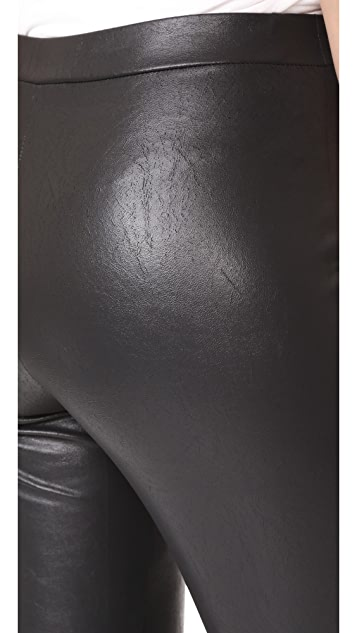 Ella Moss Faux Leather Leggings
