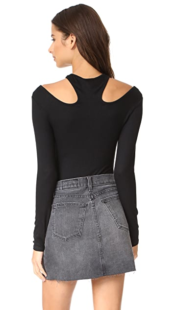 Ella Moss Cutout Bodysuit