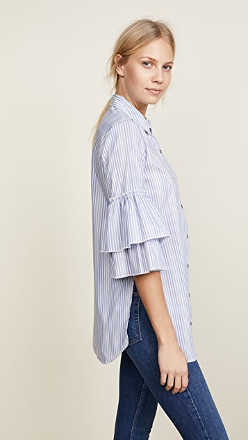Ella Moss Carissa Buttondown