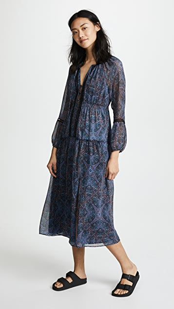 Ella Moss Monarch Handkerchief Dress