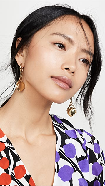 Ellery Isaac Small Disk Earrings