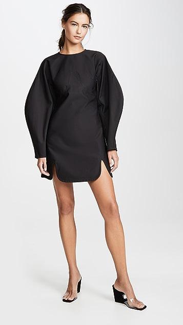 Ellery Teeny Voluminous Sleeve Dress