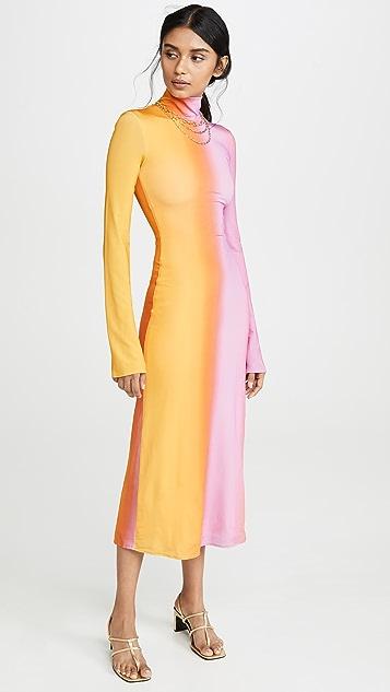 Ellery Платье с воротником под горло