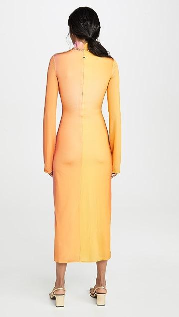 Ellery Bach Mock Neck Dress