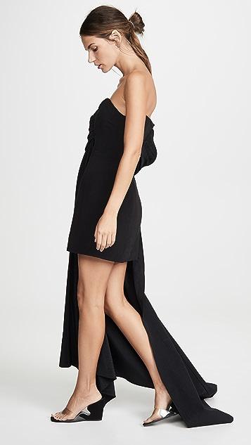 Ellery Ecuador Draped Asymmetrical Dress