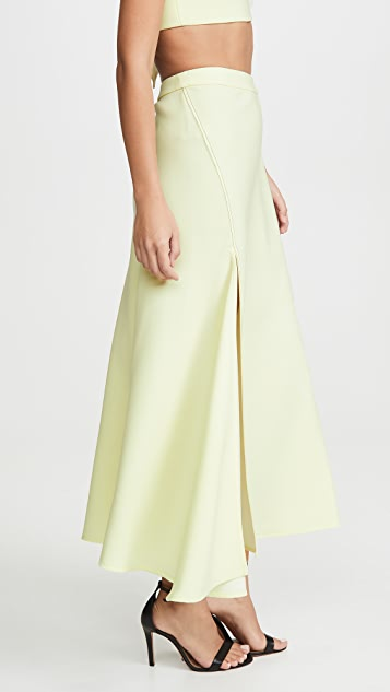 Ellery High Slit Skirt
