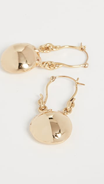 Ellery Hazleton Medallion Earrings