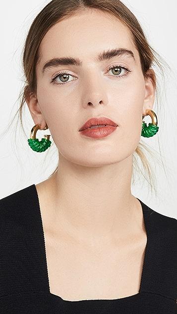 Ellery Gertrude Jumpring Earrings