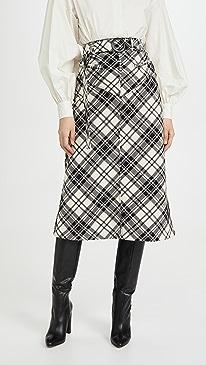 Matango Check Skirt