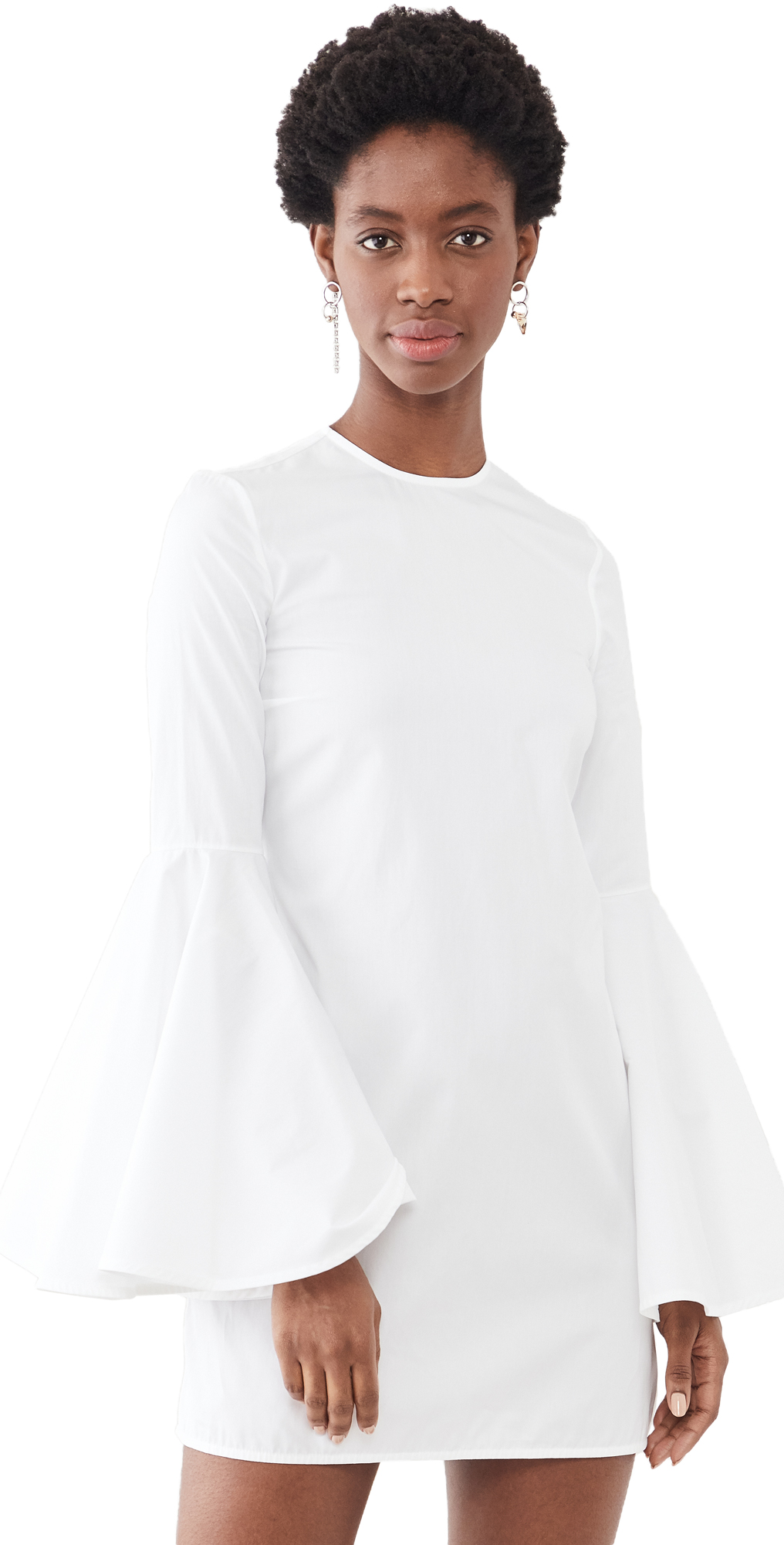 Dogma Flare Sleeve Mini Dress