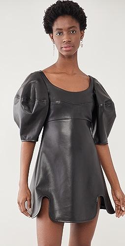 Ellery - Margaret Bubble Sleeve Dress
