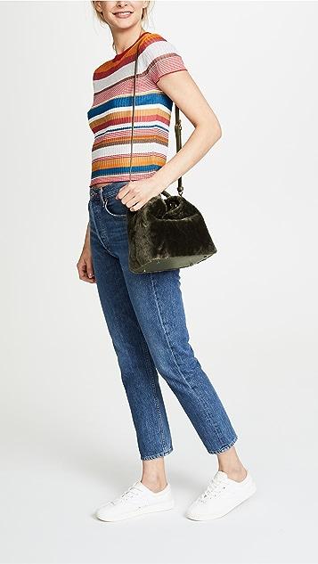 Elleme Baozi Shearling Bag