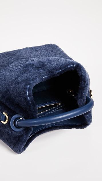 Elleme Shearling Baozi Bag