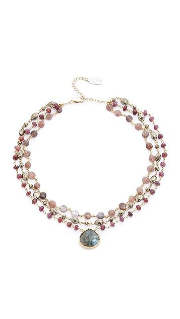 Ela Rae Multi Choker Necklace