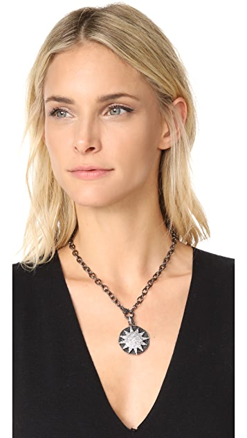 Ela Rae Sun Disc Necklace