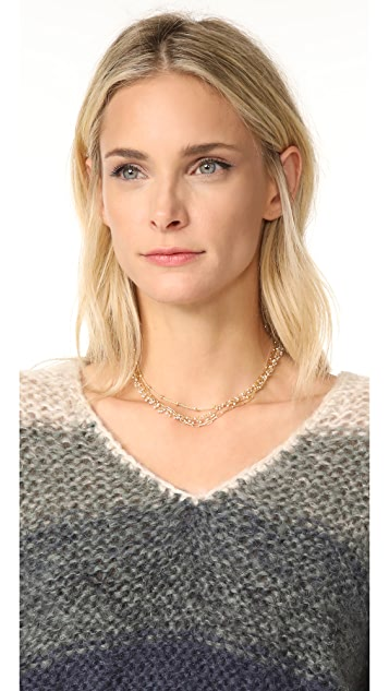 Ela Rae Three Layer Collar Necklace