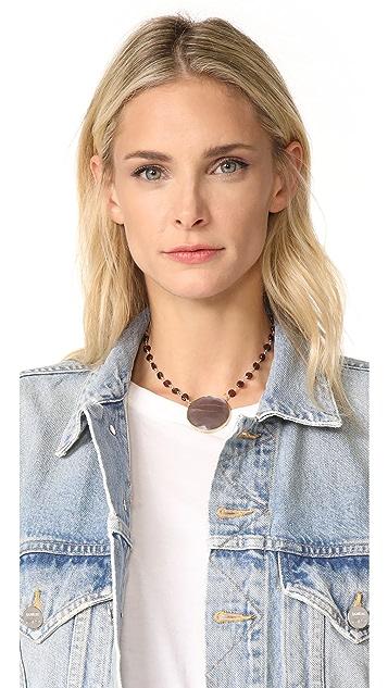 Ela Rae Moonstone Pendant Necklace