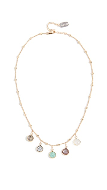Ela Rae Multi Stone Necklace