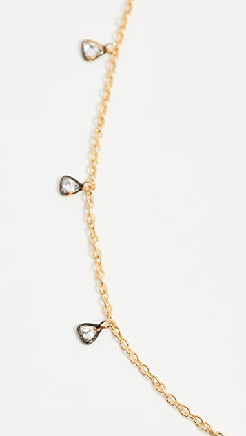 Ela Rae Triangle Drop Necklace
