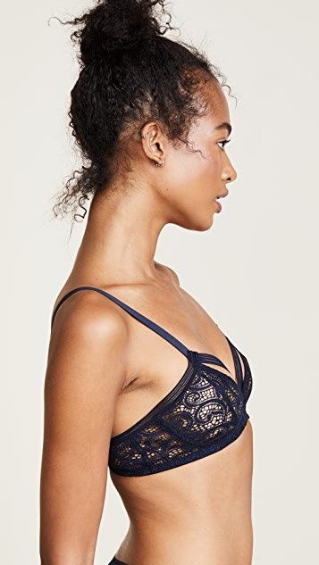 Else Lingerie Paisley Soft Cup Triangle Bra