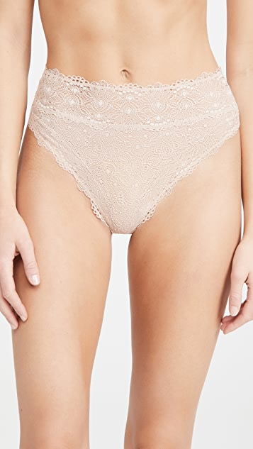 ELSE Flora High Waisted Thong