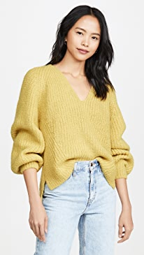 Tess Alpaca Sweater