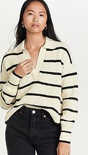 Eleven Six Tatum Stripe Alpaca Sweater