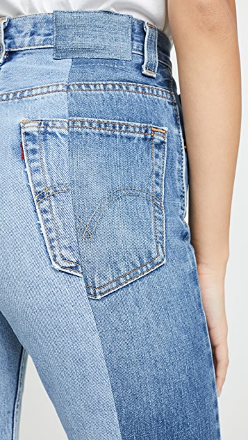 E.L.V. Denim The Twin Straight Leg Jeans