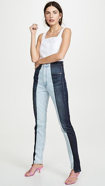E.L.V. Denim Прямые джинсы Twin