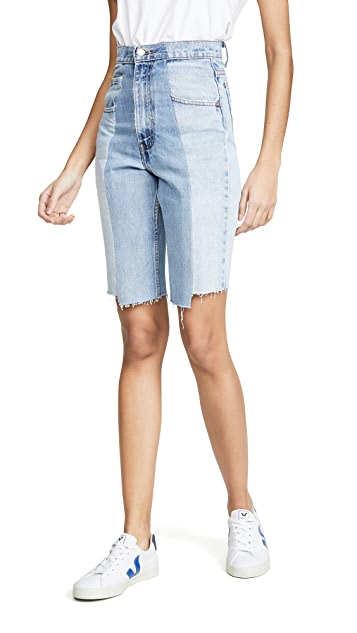 E.L.V. Denim Twin Shorts