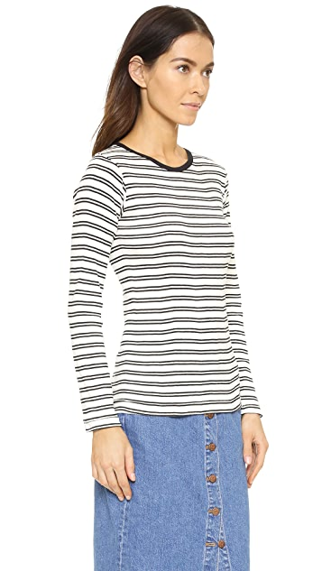 Edith A. Miller Crew Neck Long Sleeve Tee