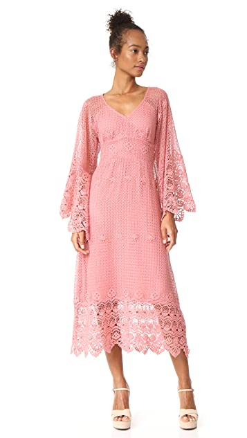 Ella Moon Crochet Lace Dress