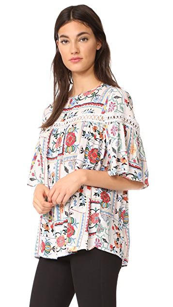 Ella Moon Ladder Swing Blouse