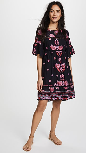 Ella Moon Ladder Swing Dress