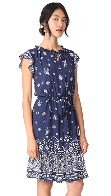 Ella Moon Bandana Midi Dress
