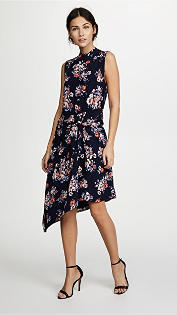 Ella Moon Floral Tie Front Dress